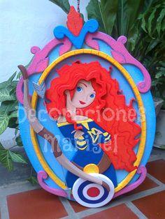Piñata Princesa Merida
