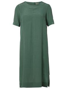 SILK - SHORT SLEEVED DRESS, Myrtle