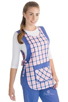 Tunic Sewing Patterns, Sewing Aprons, Sewing Clothes, Dress Patterns, Retro Apron Patterns, Pinafore Pattern, Pinafore Apron, Cute Aprons, Crochet Buttons