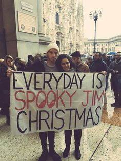 http://www.ipetitions.com/petition/josh-please-bring-back-the-spooky-jim-christmas?utm_medium=email&utm_source=email&utm_campaign=Send%2Bto%2BFriend <--- petition to get it back on twitter