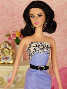 French Quarter for Silkstone Barbie Poppy Parker & by HankieChic