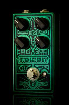 huckleberry fuzz FX pedal by mojo hand. #guitar #pedal