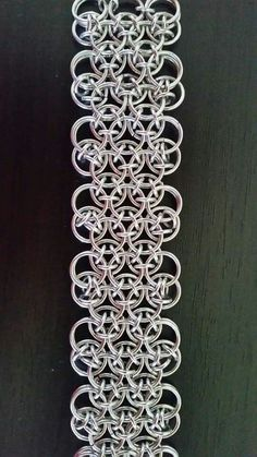 Japanese dragonscale bracelet by Jacquie