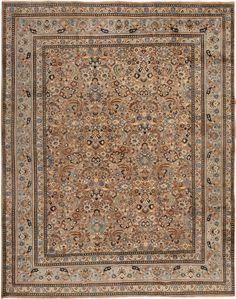 Antique Mashad Persian Rugs 42858 Main Image - By Nazmiyal