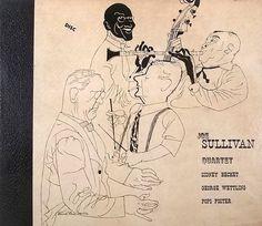 Joe Sullivan Quartet, Label: Disc (1946) Design: David Stone Martin.