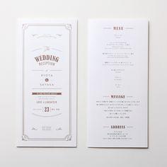 席次表 Wagen LOUNGE WEDDINGの席次表
