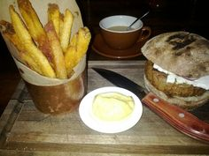 Lamb Burger French Fries The Best Dish Ever Breslin Bar Dining Room In New