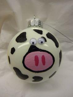 Cow ornament.......