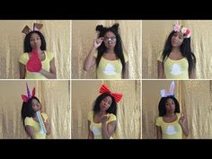 DIY LAST MINUTE COSTUME | 6 SNAPCHAT FILTERS FOR UR SQUAD - YouTube