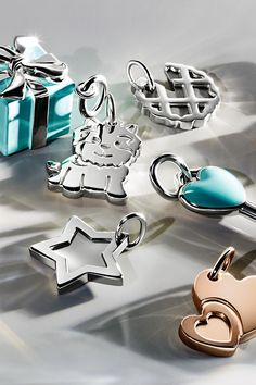 Mark any special moment with the delicate designs of Tiffany Charms.
