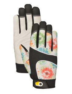 Women's Leather Palm Work Gloves $19.95