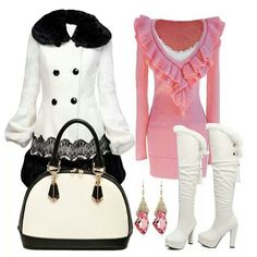 Timeless cute winter outfit