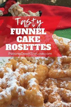 Rosettes Cookie Recipe, Rosette Recipe, Rosette Cookies, Best Christmas Cookies, Christmas Treats, Vegan Christmas, Christmas Goodies, Christmas Baking, Christmas 2019