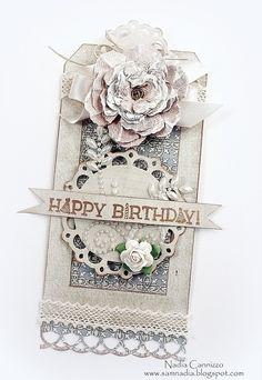 Happy Birthday *Donna Salazar Designs* - Scrapbook.com