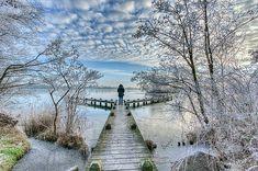 Winter time in Amstelveen, The Netherlands