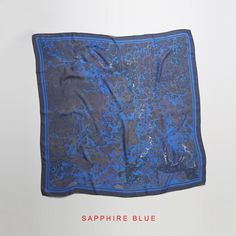 Sapphire Blue - so nice! Ponies, Blue Sapphire, Empire, Scarves, Nice, Handmade, Shopping, Accessories, Collection
