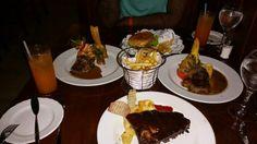 American Grill in Punta Cana,Dominican Republic. Melia Caribe all inclusive resort