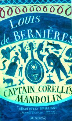 La mandolina del capitán Corelli. Louis de Bernières