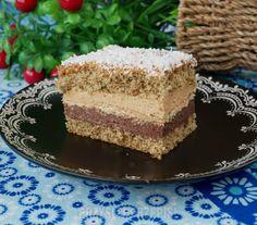 Kawowiec z kremem czekoladowo – karmelowym Vanilla Cake, Tiramisu, Cheesecake, Sweets, Cooking, Ethnic Recipes, Polish Food, Diet, Bakken