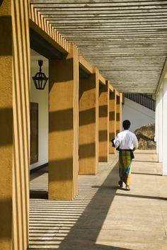 Geoffrey Bawa's Lighthouse Hotel Sri Lanka.