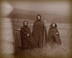 Pagans. 1890s UK photograph.