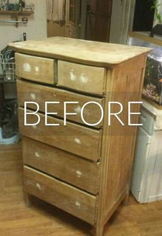 We stop looking at these dresser makeovers.