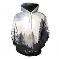 3D Autumn Winter Printed Hoodie These custom designed sweatshirt hoodies are a MUST HAVE! Pre-Shrunk 2-Way Stretch 100% Premium Microfiber Polyester, extremely strong and durable. High-definition 360 design covers the entire front, back, hood, and sleeves. Each fabric panel is printed with the graphics before sewing to ensure the design is perfect. Material: Cotton, Polyester ***This is a Unisex fitted hoodie. For men's fit we recommend going 1-2 sizes up from normal size.