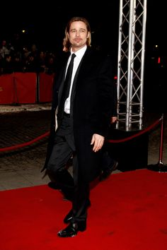 Brad Pitt in Dolce&Gabbana; to the Premiere of 'In the Land of Blood and Honey' during the 62nd Berlin Film Festival