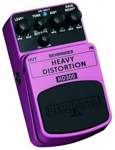 Behringer HD300 Heavy Distortion Pedal by Behringer. $23.99