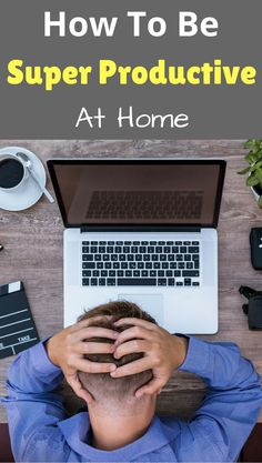 Ever wondered how to be productive at home? Here's a step-by-step productivity and time management method so you can be productive and happy. #productivity #stepbystep #ecstatichappiness