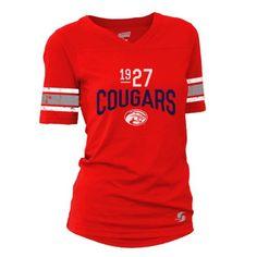Soffe Juniors' University of Houston Drop Tail Football T-shirt