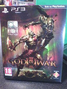 GOD OF WAR 3  SPECIAL EDITION     playstation 3  PS3   raro!!!