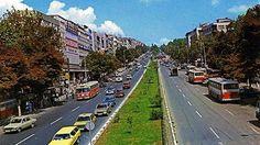 1985... Beşiktaş Barbaros Bulvarı