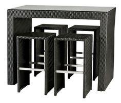 Tuk Patio Bar Set - small, compact