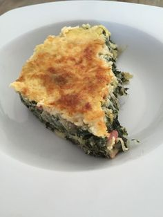 Gluten-free Swiss chard quiche four SP / half for four components Weigth Watchers, Diet Recipes, Healthy Recipes, Cake & Co, Spanakopita, Quiches, Entrees, Good Food, Zucchini