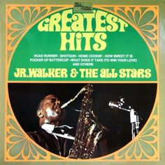 JR. WALKER & THE ALL STARS - Greatest Hits (Tamla Motown WL 72097) Vinyl   Music