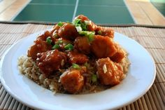 Just like PF Chang's Spicy Chicken... add peanuts to it... YUM!!