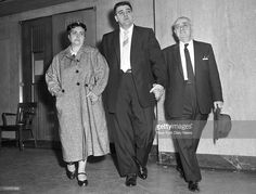 Vincent Giganti accused of shooting Frank Costello with his parents Yolanda Giganti and Salvatore Giganti