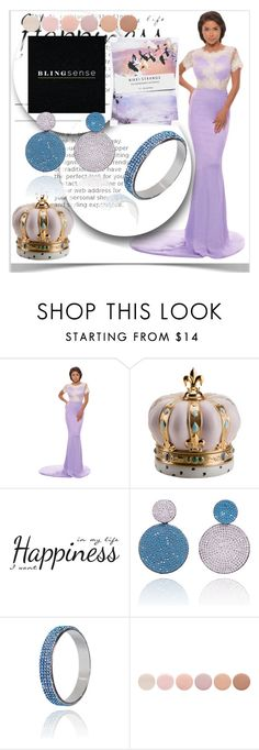 """blingsense contest🍬"" by andokamalyan ❤ liked on Polyvore featuring Villari, York Wallcoverings, Deborah Lippmann, Nikki Strange, jewelry and blingsense"