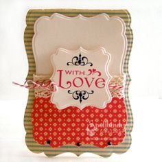 View Idea Gallery Projects | Spellbinders - With Love