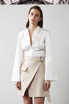 C/Meo Collective White Walls Skirt Bone - Niki Belle