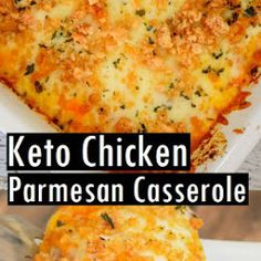 Keto Chicken Parmesan Casserole Recipe - Cook All Recipe
