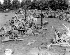 Isigny-sur-Mer ( - salvage depot ) 1944