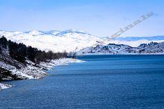 Spring Snow in the Rockies  Pond Landscape by EagleEyeOriginals, $30.00