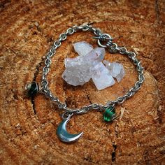 Check out this item in my Etsy shop https://www.etsy.com/listing/211179727/sterling-moon-bracelet-handmade-yoga