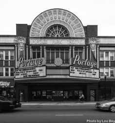 WBEZ blogger Lee Bey writes about the Portage Theater, and a recent vote that gives it preliminary landmark status.