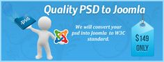 PSD to Joomla- Best CMS solution for an Appealing Website