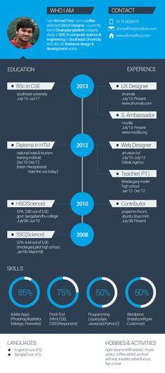 Flat Resume Template, #CV, #Flat, #Free, #PSD, #Resource, #Resume, #Template