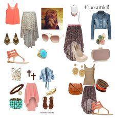 Senior Wardrobe Ideas High Low Skirts