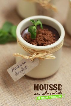 Spicy chocolate mousse. Why yes, Pierre Hermé, I will re-learn French just for you. via Fraise Basilic.